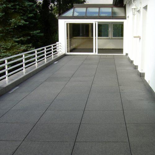 Granit Terrasse Nero Impala Massanfertigung