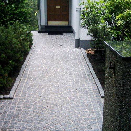 Granitpflaster gelbgrau
