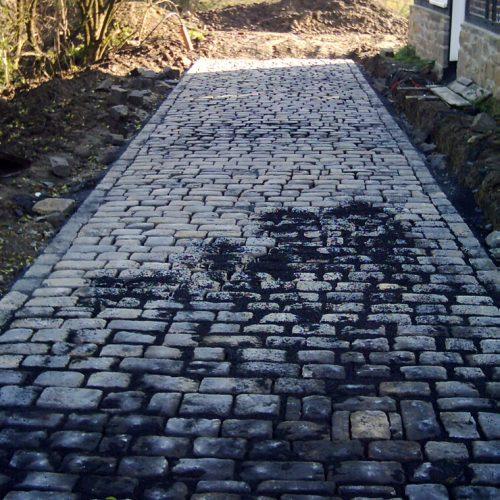 Naturstein Großpflaster